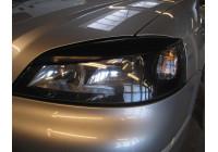 Headlight spoiler Opel Astra G 1998-2003 (ABS)