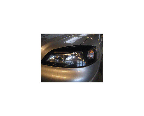 Headlight spoiler Opel Astra G 1998-2003 (ABS), Image 2