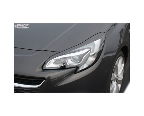 Headlight spoiler Opel Corsa E 2014- (ABS)