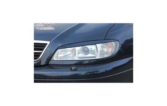 Headlight spoiler Opel Omega B Facelift 1999- (ABS)