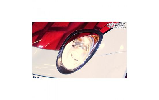Headlight spoilers Alfa Romeo Mito (ABS)