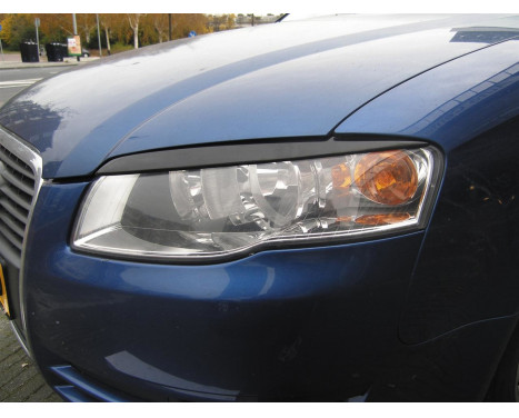 Headlight Spoilers Audi A4 2005-2007 (ABS)