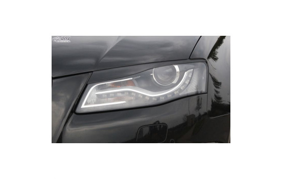Headlight Spoilers Audi A4 B8 2008-2012 (ABS)