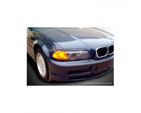 Headlight spoilers BMW 3-Series E46 1998-2002 (ABS)