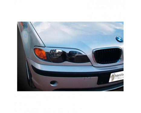Headlight spoilers BMW 3-Series E46 2002-2005 (ABS)
