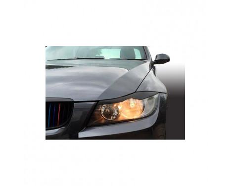 Headlight spoilers BMW 3-Series E90 / E91 Sedan / Touring 2005-2012 (ABS)