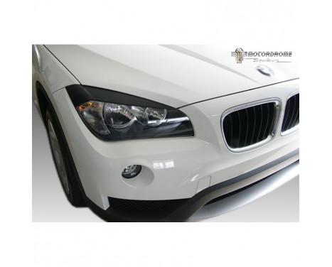 Headlight spoilers BMW X1 E84 2009-2015 (ABS)