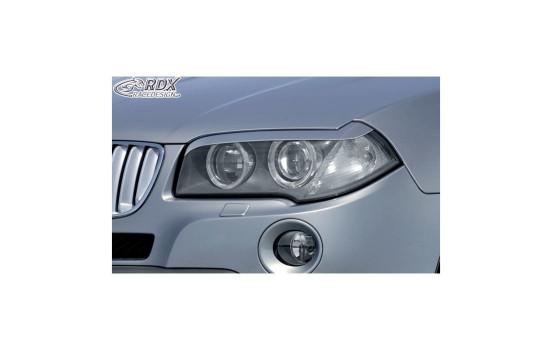 Headlight Spoilers BMW X3 E83 2004-2010 (ABS)