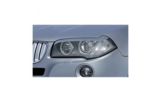 Headlight spoilers BMW X3 E83 2004-2010 (ABS)