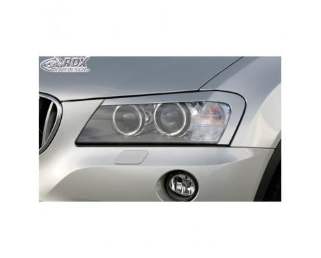Headlight Spoilers BMW X3 F25 2010-2014 (ABS)