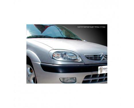 Headlight spoilers Citroën Saxo 1999-2003 (ABS)