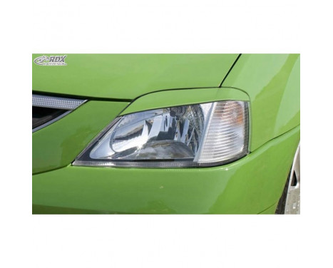 Headlight Spoilers Dacia Logan -2008 (ABS)