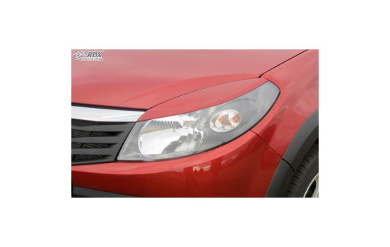 Headlight Spoilers Dacia Sandero -2012 (ABS)