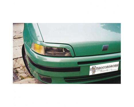 Headlight spoilers Fiat Punto I 1995-1999 (ABS)