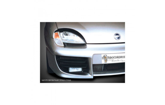 Headlight spoilers Fiat Seicento (ABS)