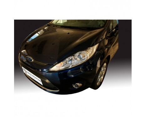Headlight spoilers Ford Fiesta VII 2008-2013 (ABS)