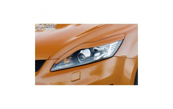 Headlight Spoilers Ford Focus II Facelift 2008-2011 (ABS)
