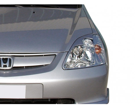Headlight spoilers Honda Civic HB 3/5-door 2001-2005