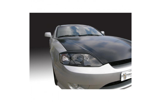 Headlight spoilers Hyundai Coupé 2002-2008 (ABS)