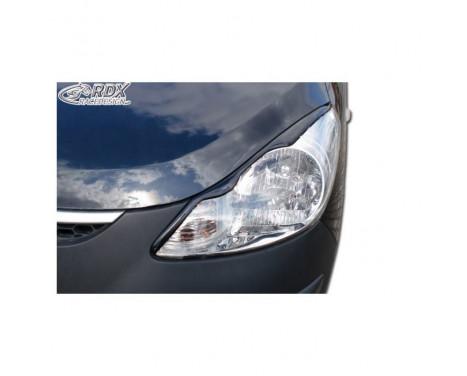 Headlight Spoilers Hyundai i10 2008- (ABS)