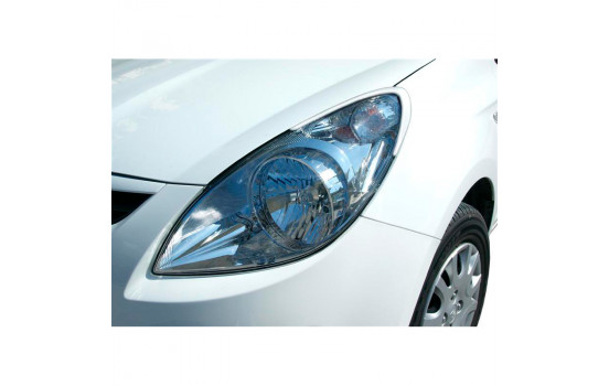 Headlight spoilers Hyundai i20 2009-2014 (ABS)