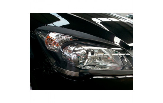 Headlight spoilers Kia Cee'd 2006-2012 (ABS)
