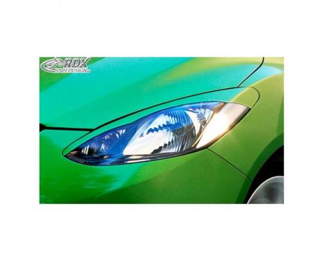 Headlight Spoilers Mazda 2 2007-2011 (ABS)