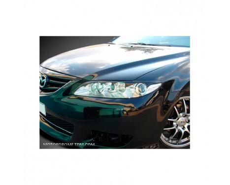 Headlight spoilers Mazda 6 2002-2007 (ABS)