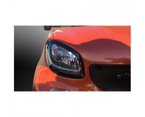 Headlight spoilers MCC Smart ForTwo & ForFour (453) 2014- (ABS)
