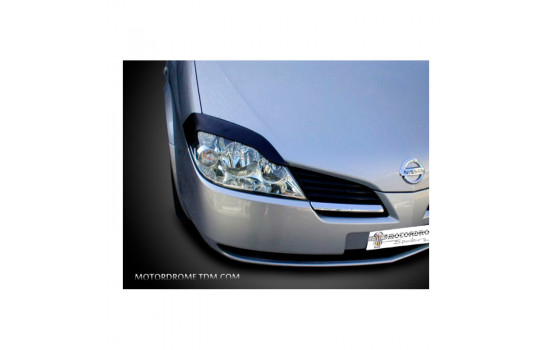 Headlight spoilers Nissan Primera 2002-2006 (ABS)
