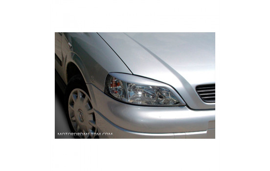 Headlight spoilers Opel Astra G 1998-2003 (ABS)