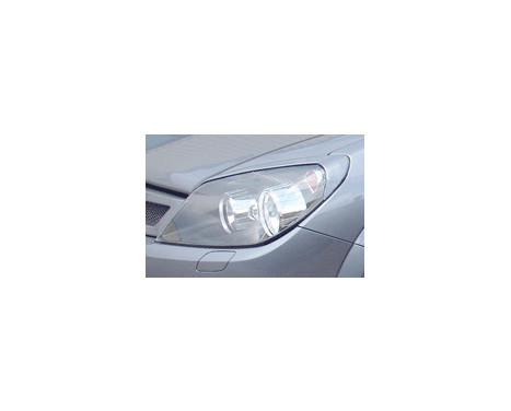 Headlight Spoilers Opel Astra H GTC 2005-2009 (ABS), Image 2