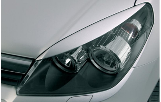 Headlight Spoilers Opel Astra H GTC / 5 doors (ABS)