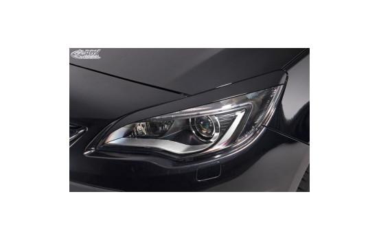 Headlight Spoilers Opel Astra J HB 5-door / Sportstourer 2009-2015 (ABS)