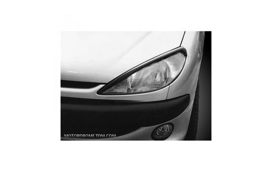Headlight spoilers Peugeot 206 (ABS)