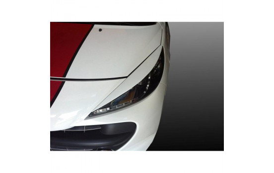 Headlight spoilers Peugeot 207 (ABS)
