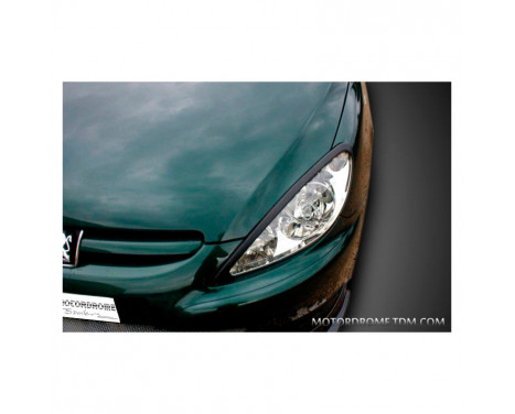 Headlight spoilers Peugeot 307 (ABS)