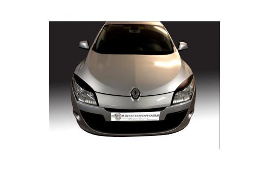 Headlight spoilers Renault Megane III 2008-2015 (ABS)