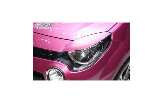 Headlight Spoilers Renault Twingo II Facelift 2012-2014 (ABS)