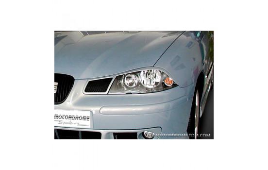 Headlight spoilers Seat Ibiza 6L 2002-2008 (ABS)