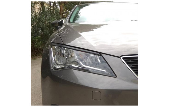 Headlight spoilers Seat Leon 5F 3/5-doors incl. ST 2013- (ABS)