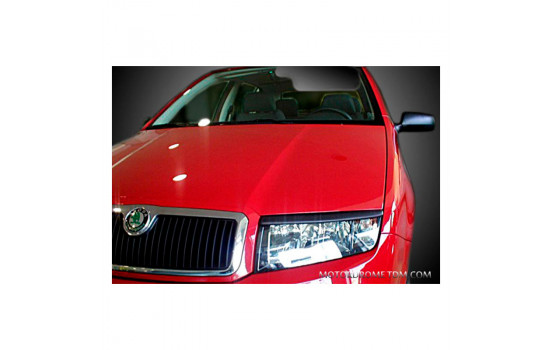 Headlight spoilers Skoda Fabia 6Y 1999-2007 (ABS)