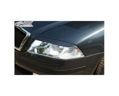 Headlight Spoilers Skoda Octavia II 2004-2008 (ABS)