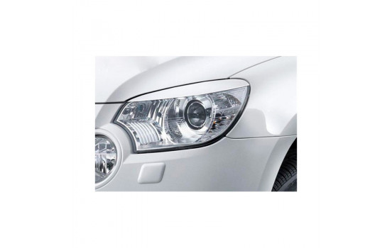 Headlight spoilers Skoda Yeti 2009- (ABS)