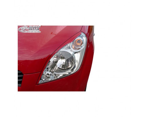 Headlight Spoilers Suzuki Splash 2008- (ABS)