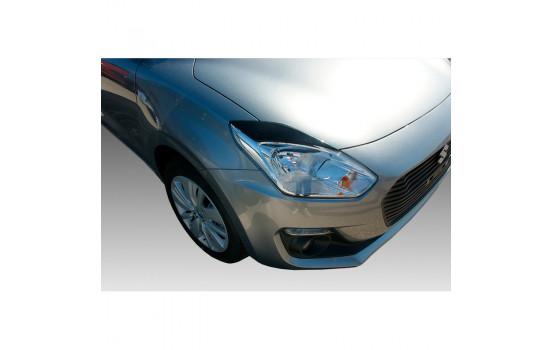 Headlight spoilers Suzuki Swift IV 2017- (ABS)