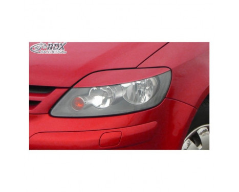 Headlight Spoilers Volkswagen Golf V Plus 2005-2009 (ABS)