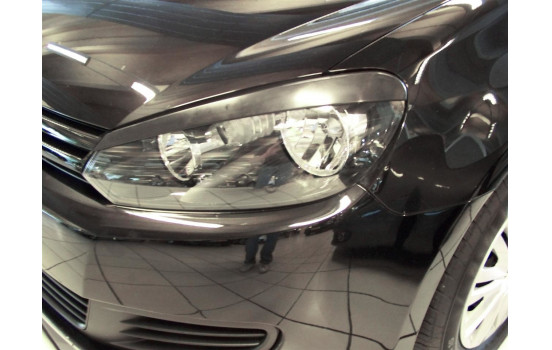 Headlight Spoilers Volkswagen Golf VI 2008-2012 (ABS)