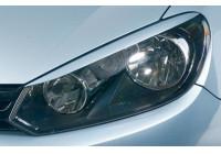 Headlight Spoilers Volkswagen Golf VI 2008- (ABS)