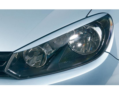 Headlight Spoilers Volkswagen Golf VI 2008- (ABS)